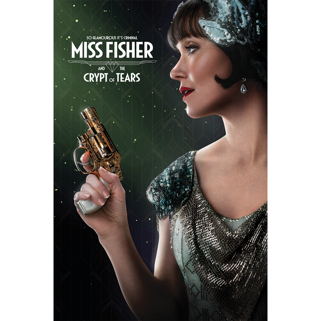 Miss Fisher and the Crypt of Tears 'Golden Gun' Jotter Pad