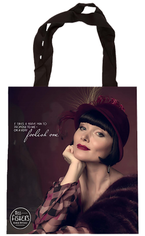 Miss Fisher Tote Bag - Foolish