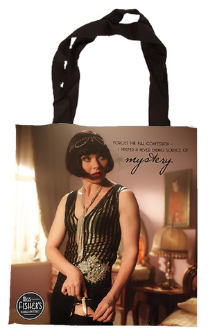 Miss Fisher Tote Bag