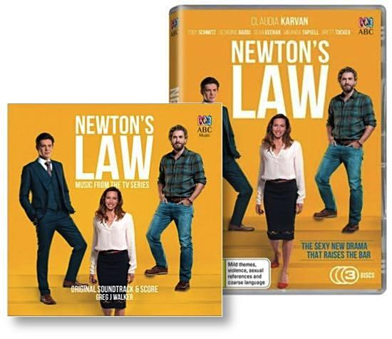 Newton's Law DVD Complete Season 1 and Original Soundtrack & Score Bundle