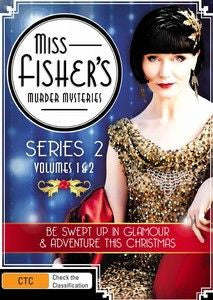 Miss Fisher DVD Series 2 Volume 1 & 2