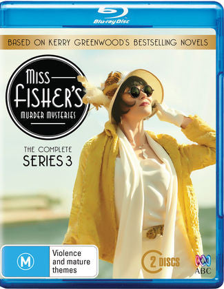 Miss Fisher Blu Ray Complete Series 3