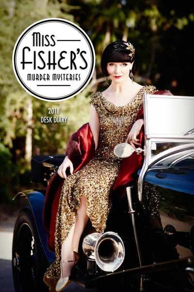 Miss Fisher Desk Diary 2018