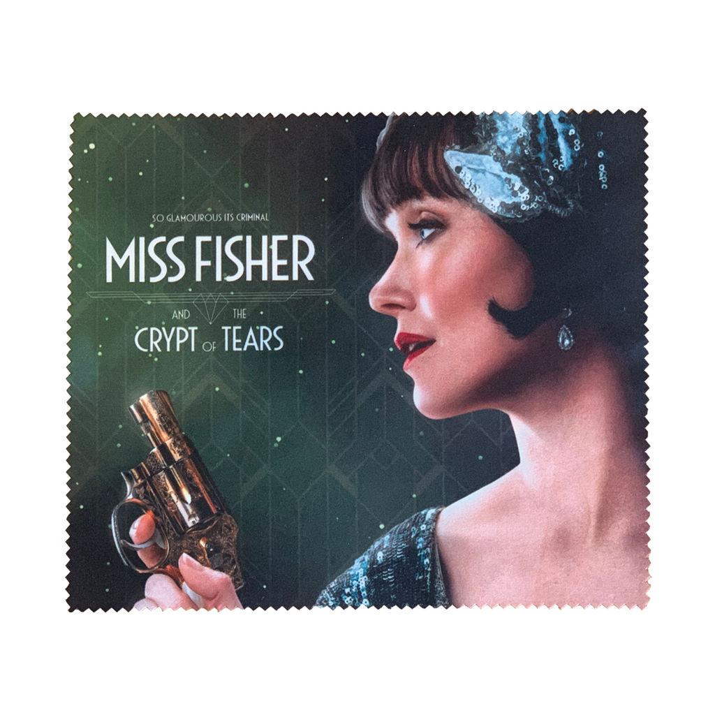 Miss Fisher and the Crypt of Tears 'Golden Gun' Lens Cloth