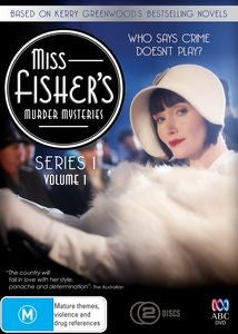 Miss Fisher DVD Series 1 Volume 1