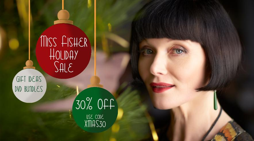 Miss Fisher Xmas Sale