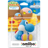 Amiibo Yoshi Blue  (Yoshi's Woolly World) - Entaya Japan - 1