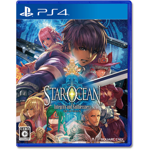 Star Ocean 5 -Integrity and Faithlessness- - Entaya Japan
