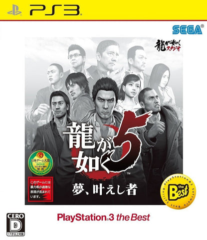 Ryu ga Gotoku 5 The BEST - Entaya Japan
