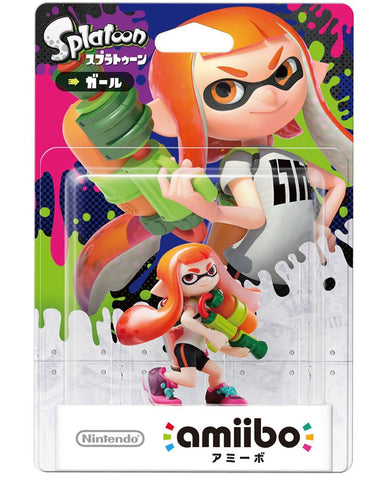 Amiibo Inkling Girl (Splatoon Series) - Entaya Japan - 1