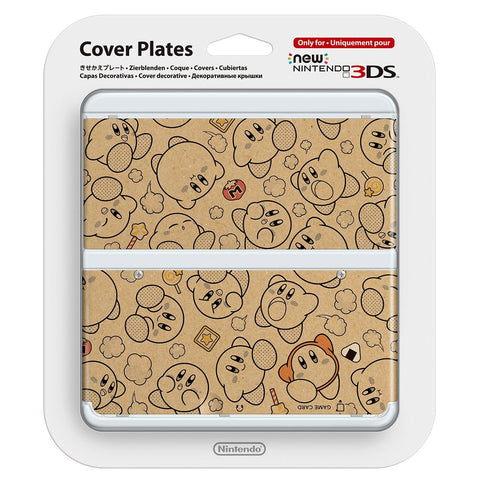 New Nintendo 3DS Cover Plates Kirby - Entaya Japan