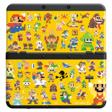 New Nintendo 3DS Console Cover Plates Pack Super Mario Maker - Entaya Japan - 2