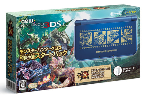 New Nintendo 3DS LL Console Monster Hunter X Edtion - Entaya Japan - 1