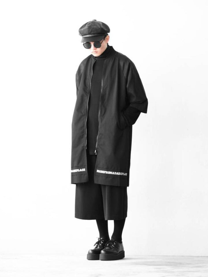 DARK PLACE LONG BOMBER 3/4 SLEEVES