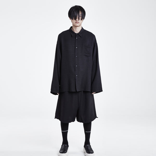 Oversized Black Shirt
