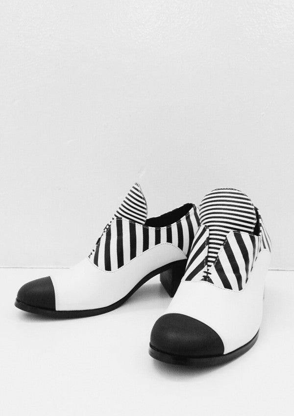 Optical Illusion Block Heels
