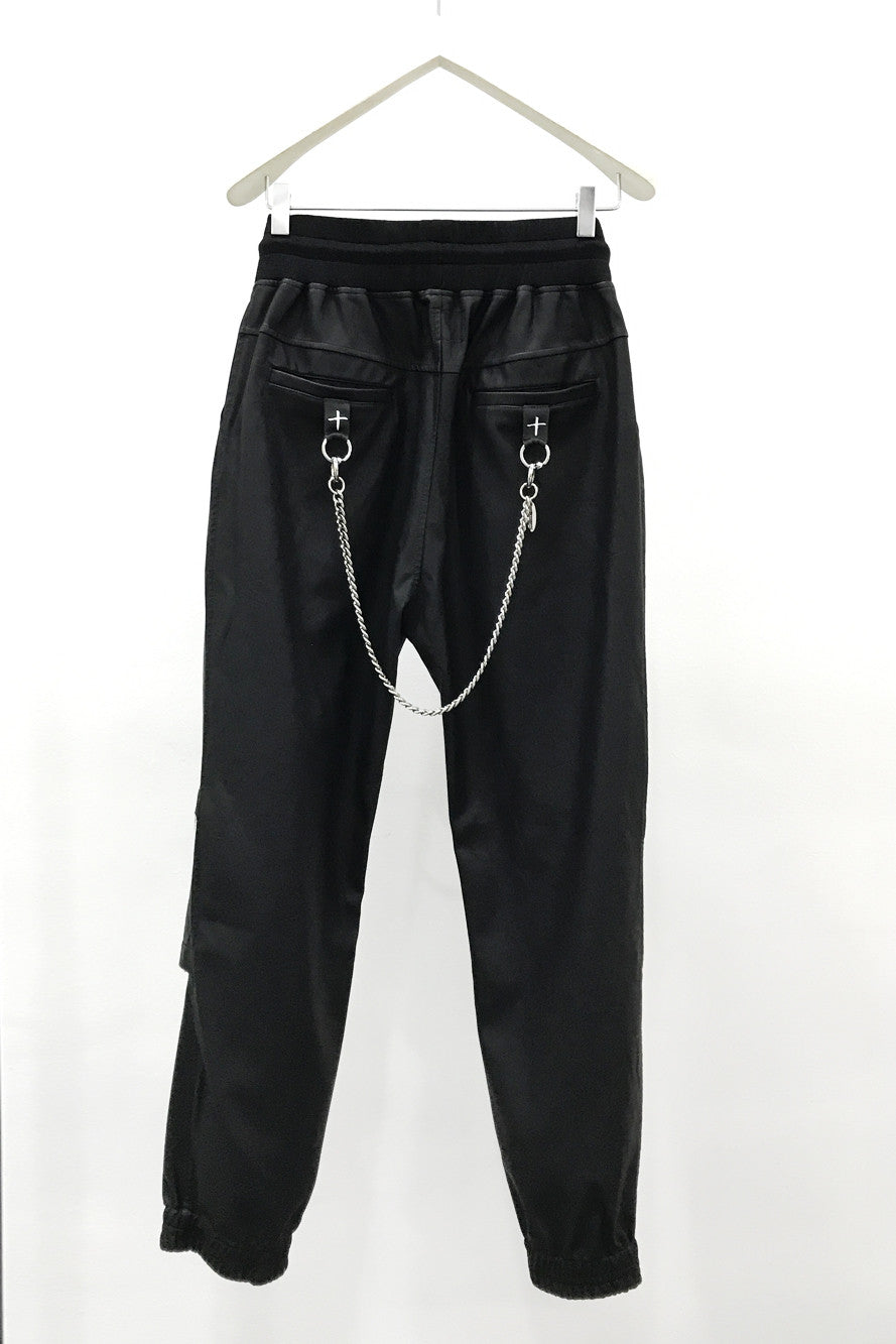 BATTLE TORN PANTS PU