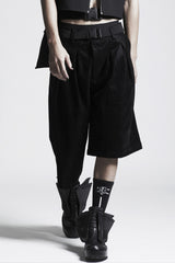Asymmetric Skorts (Hard Gloss)