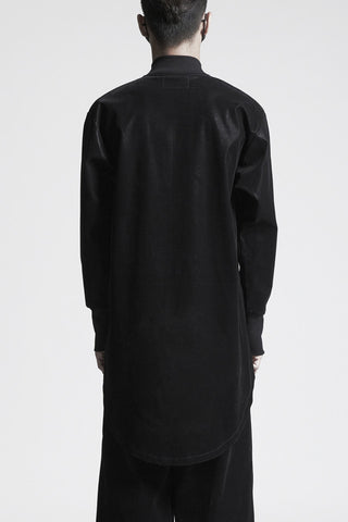 Black drop back jacket