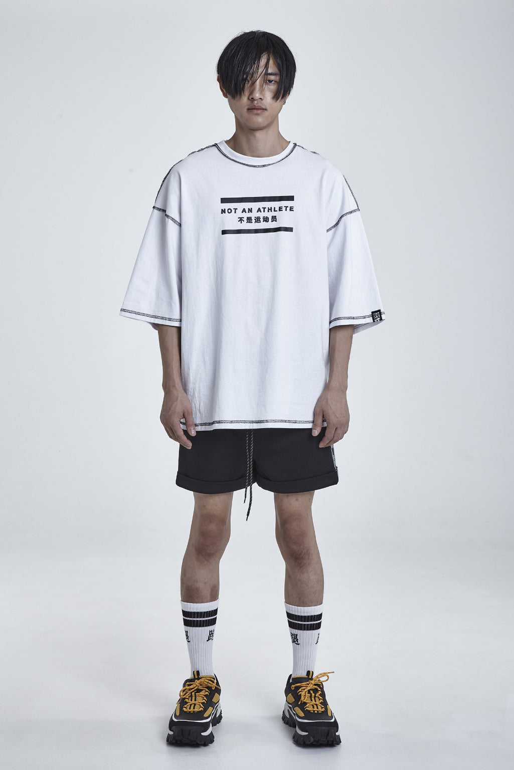 NOT AN ATHLETE OVERSIZE TEE