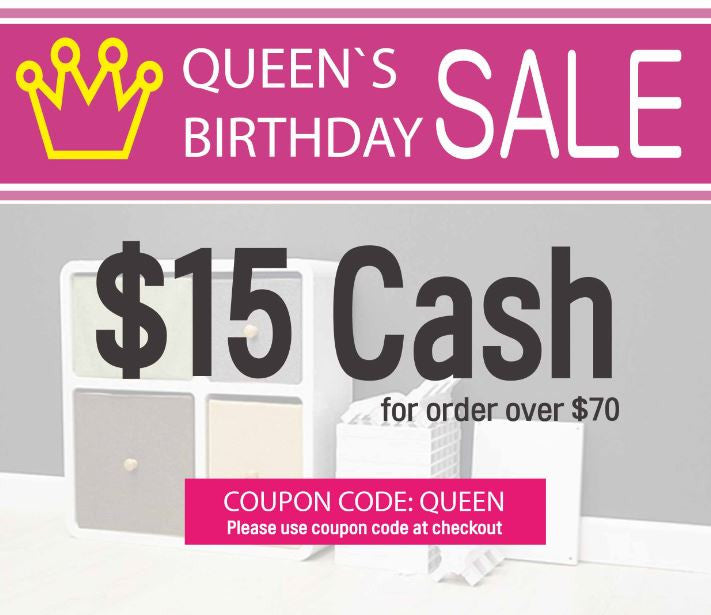 Queens Birthday Sale now on!
