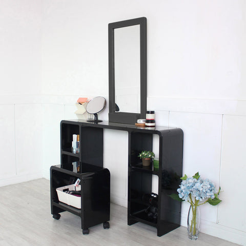 [Cubics] Makeup Table + Chair