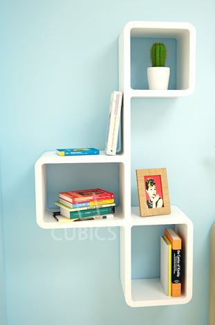 [Cubics] Large Wall Shelf - KONG Five