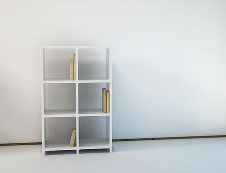 [Large Cubics] Shelving Unit (L2-3)