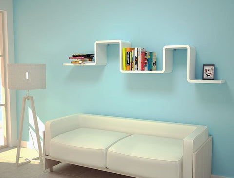 [Cubics] Large Wall Shelf - Modern