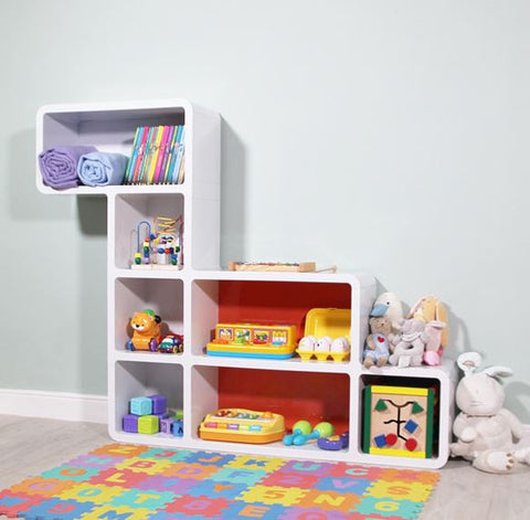 [Cubics] Snail Bookcase & Shelving Unit