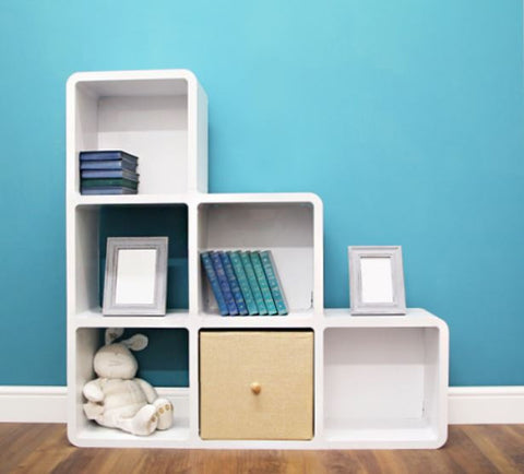 [Cubics] Idea Bookcase & Shelving Unit (300 Steps 321)