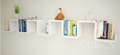 [Cubics] Small Wall Shelf - Wake