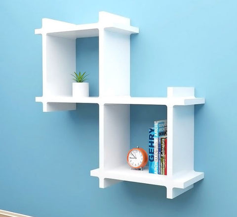 [Cubics] Large Wall Shelf - Cube Sugar