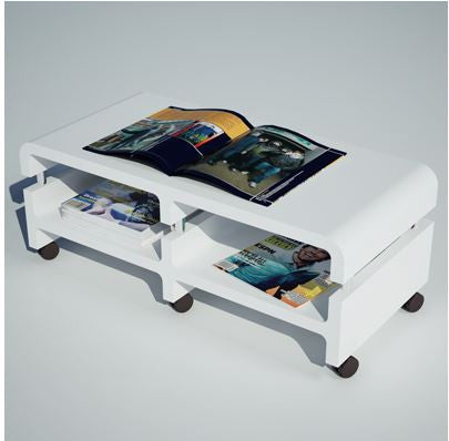 [Large Cubics] Moving Table or Entertainment Unit (Caster)