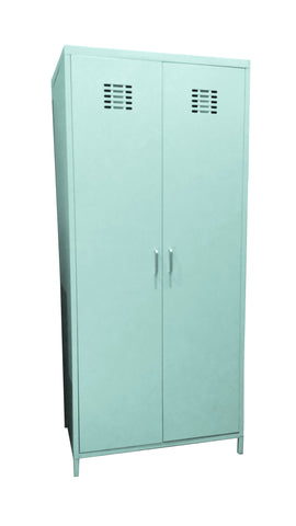 Steel Cabinet Wardrobe (Mint)