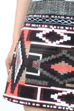 EDIE Tribal A-Line Skirt - M