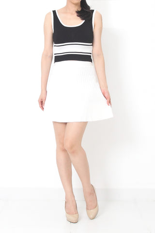 TOREY Knit Skirt White