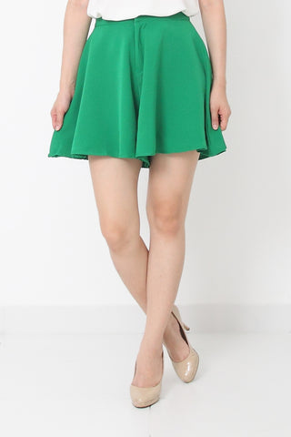 JOSE High Waist Pant Green - M