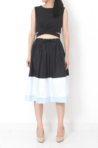 LISBON Colour Block Skirt- S M L