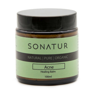 Natural Acne Skin Treatment Moisturising Cream 100 ml - SONATUR