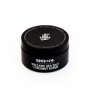 Volcanic Sea Salt + Coconut Scrub