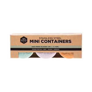 Stainless Steel Mini Containers