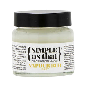 Simple As That Vapour Baby Rub