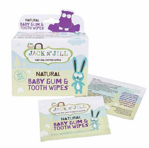 Jack N' Jill Baby Gum & Tooth Wipes (25pc)