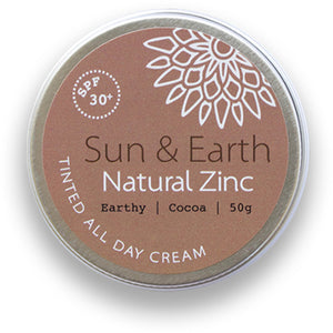 Sun & Earth Natural Zinc Cocoa