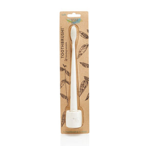 The Natural Family Co Bio Brush & Stand