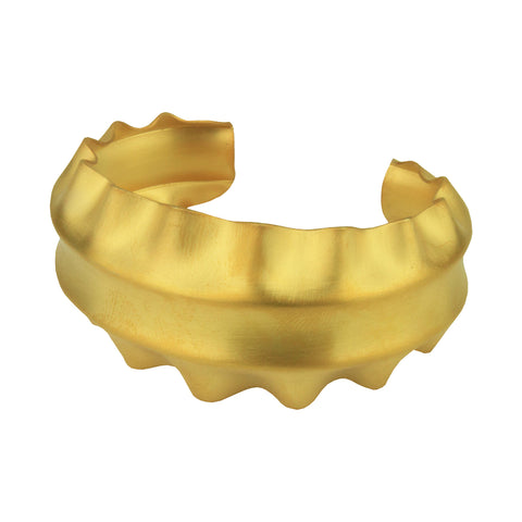 Cyclos Gold Plated Metal Bracelet