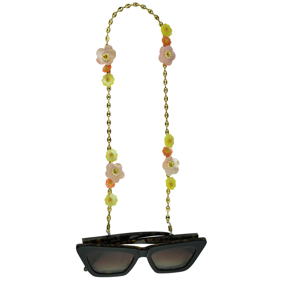 katerina psoma frame chains with multicoloured mother of pearl