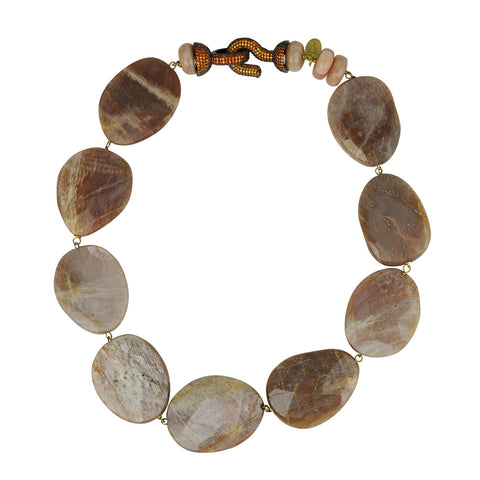 Faceted Agate Short Necklace katerina psoma