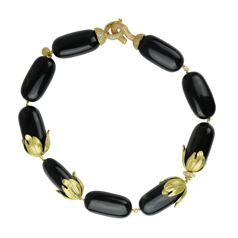 Onyx Short Necklace katerina psoma